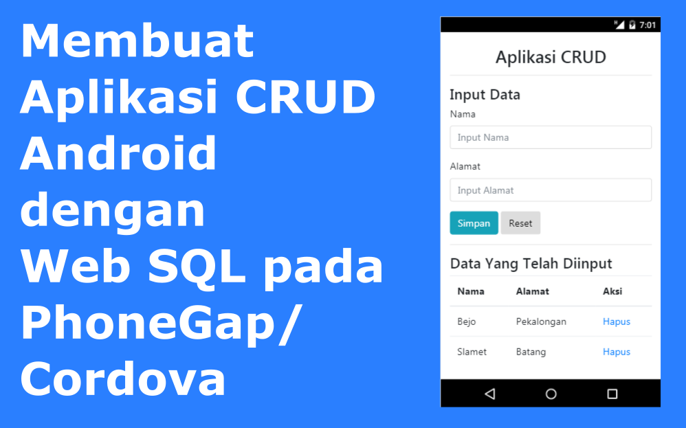 crud android web sql cover
